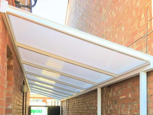 Aluminium Rafter Glazing Bar Kits Canopies Carports
