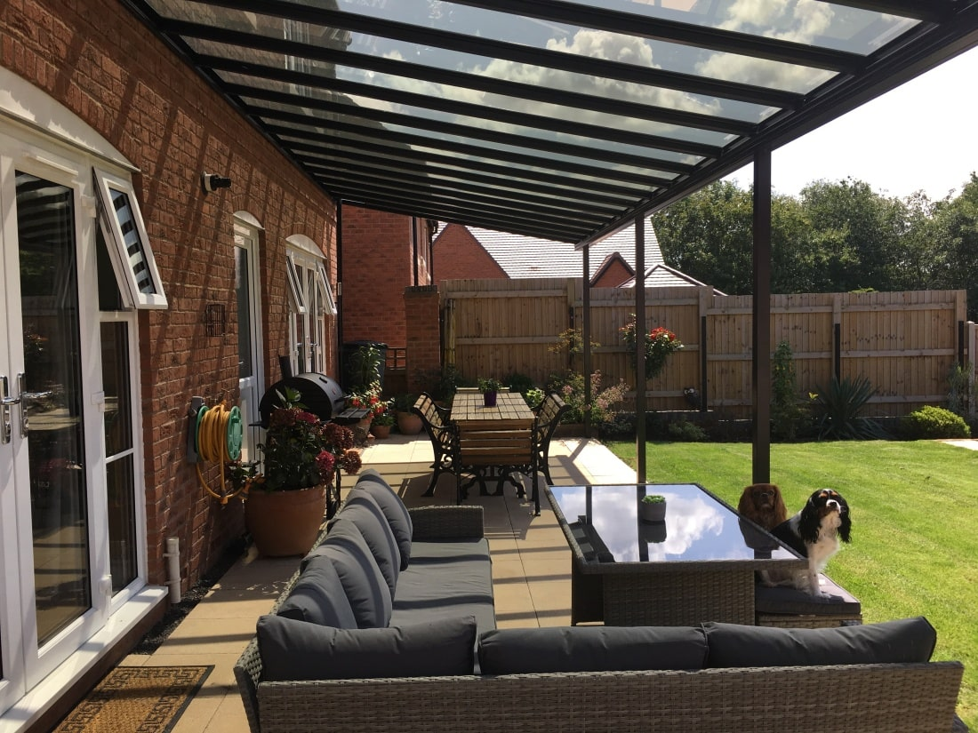 Patio Veranda Martley Worcestershire Mr & Mrs D